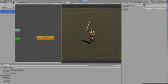 Creating Animation Layers and Masks in Unity 5