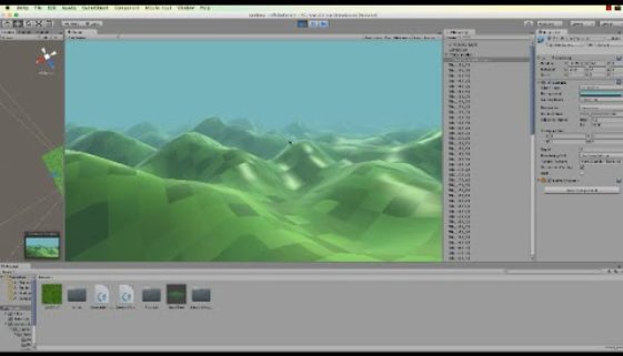 Making an Infinite Terrain with Unity 5